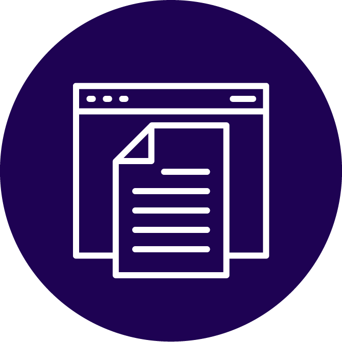 Content Writing Services Icon